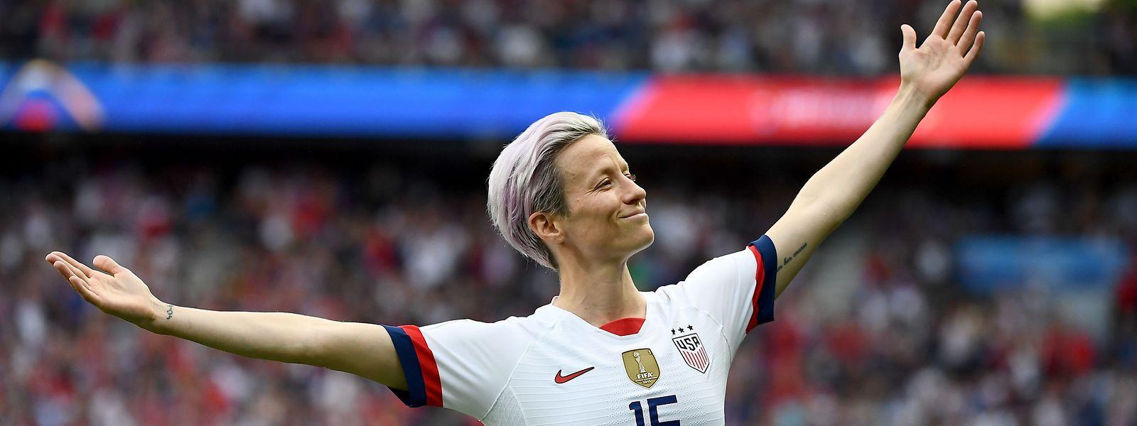 Chez les dames, l'Américaine Rapinoe, star du Mondial 2019 survolé par la «Team USA», fait figure d'immense favorite