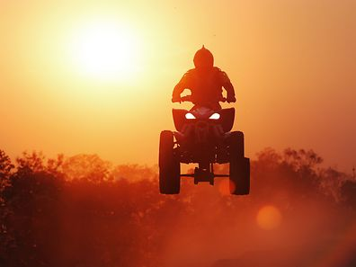 The rider confessed he had no paperwork for the vehicle as he had only bought the quad a few hours earlier