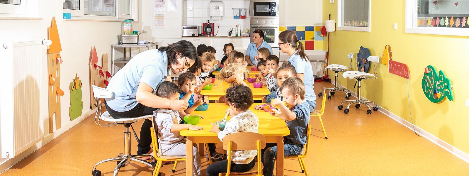 La crèche «La colline aux enfants» à Rodange a vu arriver un afflux de bambins en provenance de Belgique.