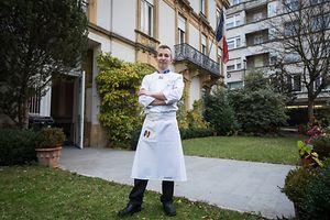David Lachavanne,cuisinier de l'ambassade de France au Luxembourg. Foto:Gerry Huberty