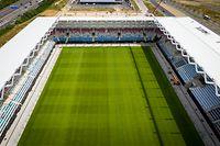 O novo estádio poderá acolher até 10 mil espectadores.