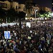 """Tausende nahmen am """"Marsch der Schande"""" in Tel Aviv teil."""