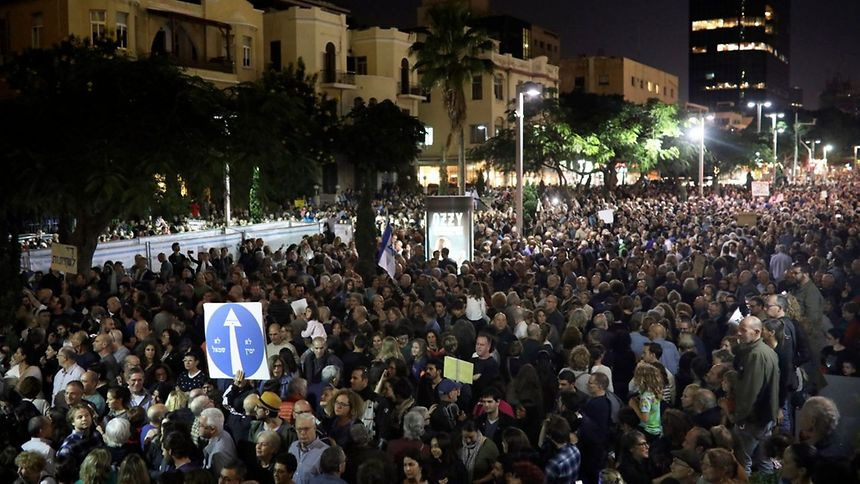 Israel: Zehntausende demonstrieren gegen Netanjahu