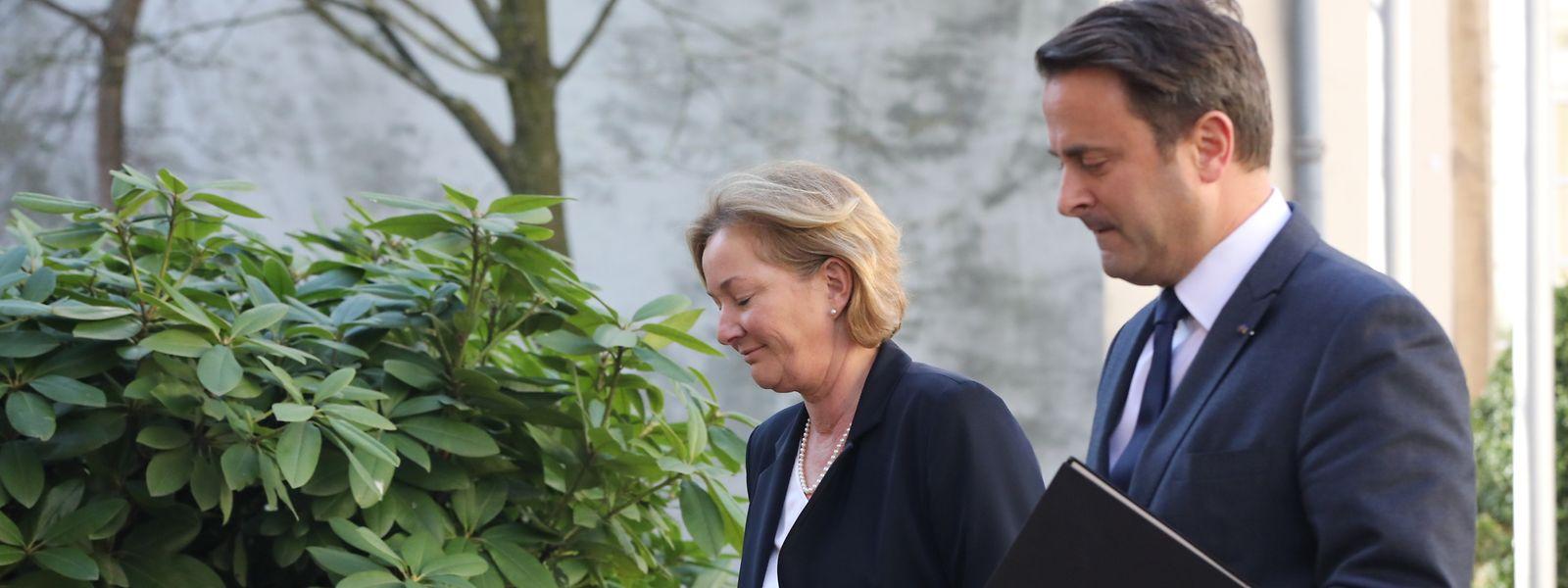 Xavier Bettel et Paulette Lenert ont une nouvelle fois insisté sur le respect des mesures de confinement