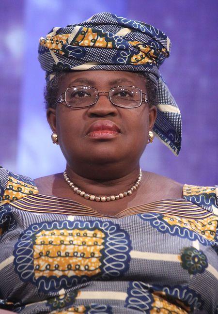 Die ehemalige Finanzministerin von Nigeria Ngozi Okonjo-Iweala während ihrer Teilnahme an der 5. Jahrestagung der Clinton Global Initiative.
