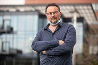 Lokales,Corona. Helden des Alltags-Jacques Nickels, CHdN Service de Psychologie. Foto: Gerry Huberty/Luxemburger Wort