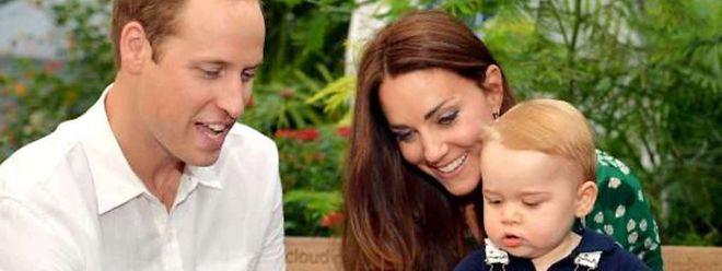 Zurzeit genießt Baby George noch die ungeteilte Aufmerksamkeit seiner Eltern.