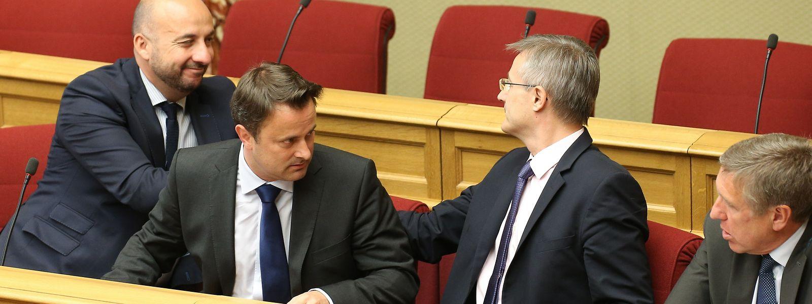 Die Regierung ist im Aufwind. Doch mit der großen Liebe zwischen DP, LSAP und Grünen ist es vorbei.