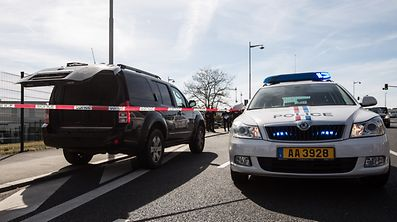 Incident rte de Thionville / Foto: Joaquim VALENTE