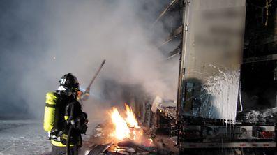 Der Brand konnte nach zwei Stunden unter Kontrolle gebracht werden.