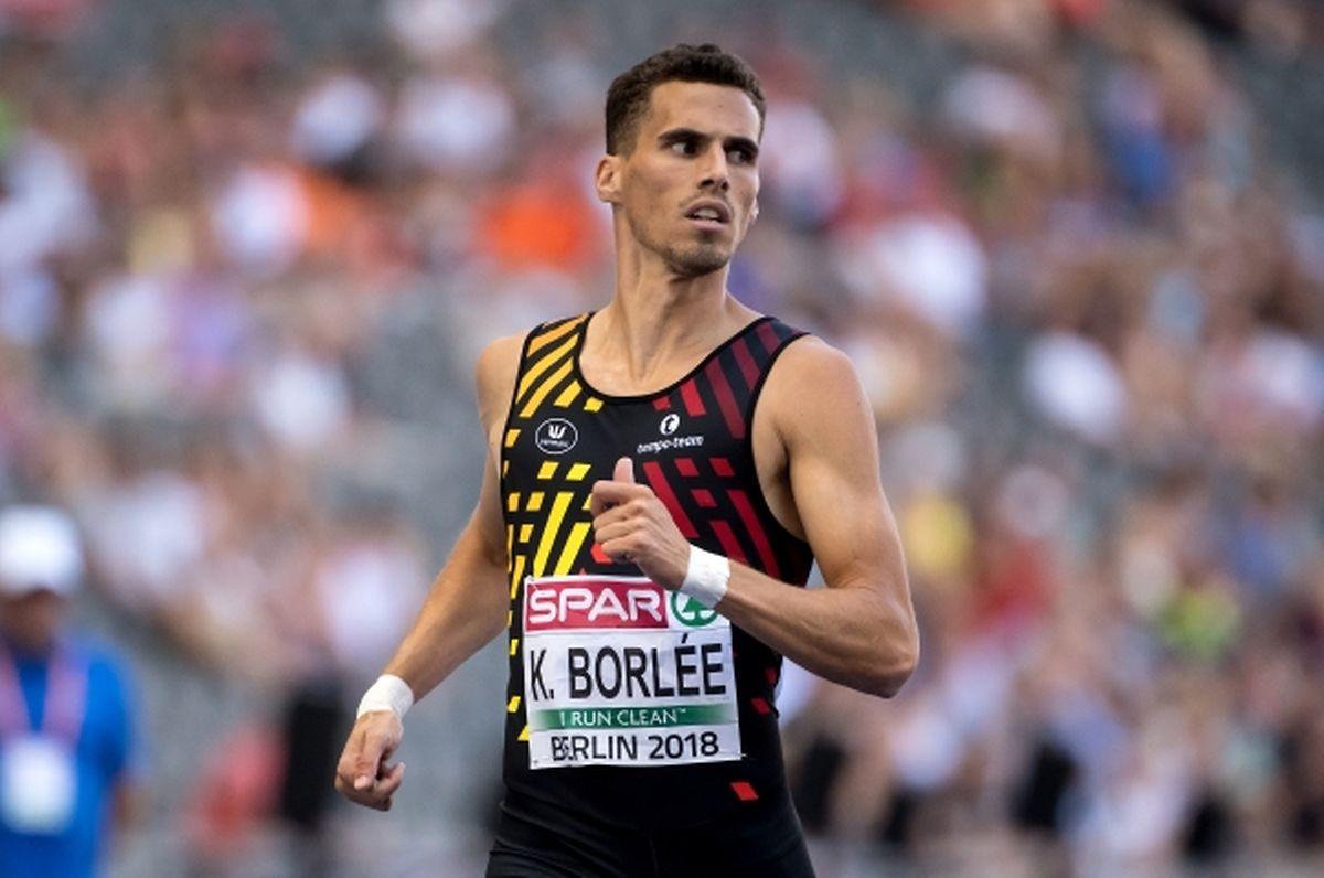 Kevin Borlée sera le fer de lance du relais belge au côté de ses frères Jonathan et Dylan.