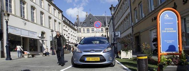 In Luxemburg gibt es bereits zwei Carsharing-Anbieter. Nun will auch die CFL Mietfahrzeuge anbieten.