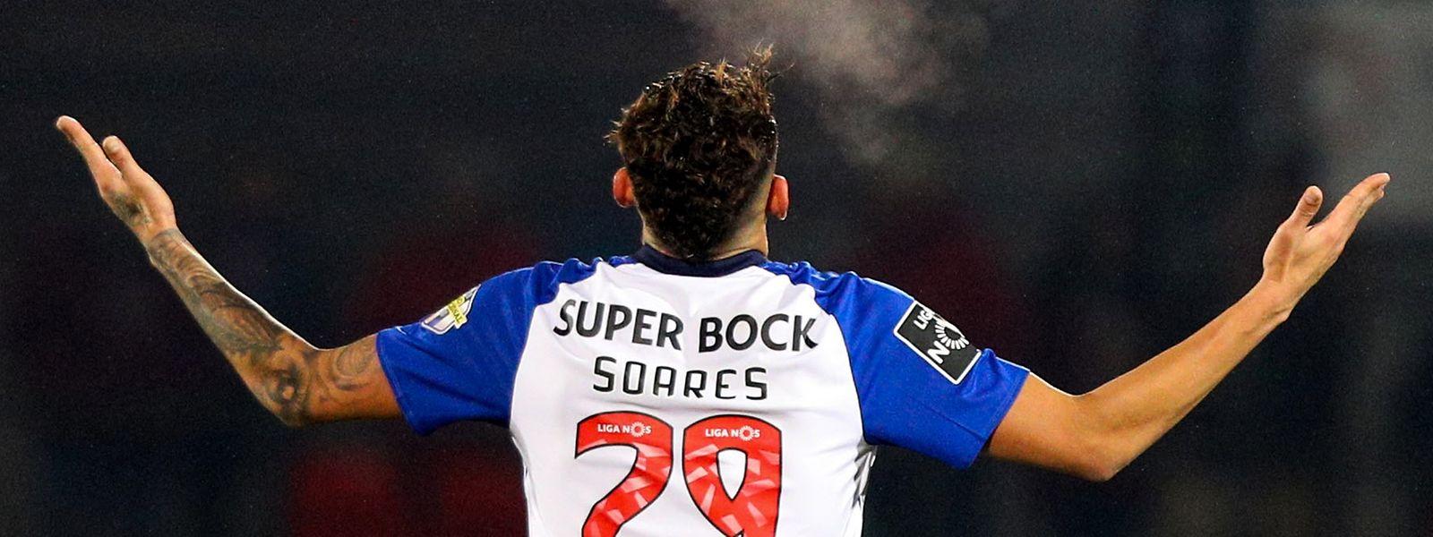 Soares celebraba o seu primeiro Hat-trick ao serviço do FC Porto.