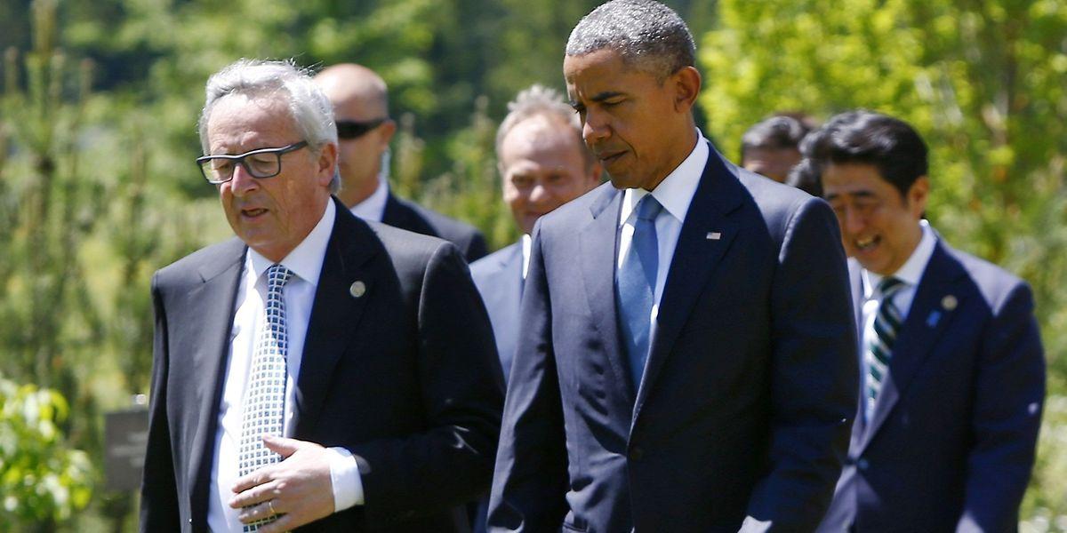 Dès 2009, Juncker avait désigné la fiscalité de certains Etats américains. Ce qu'Obama, sur le départ, semble entendre.