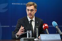 Wirtschaft, Pressekonferenz Artemis, Franz Fayot, Wirtschaftsminister, Space Angency, Foto: Guy Wolff/Luxemburger Wort