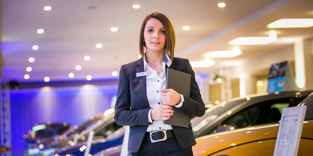 Carla Da Costa ist bereit für die Kunden und das Festival.