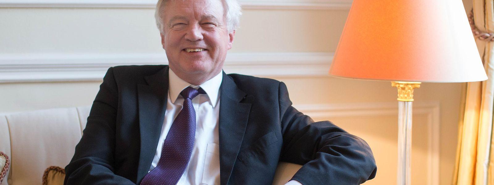 Brexit-Minister David Davis hat die historische Aufgabe, Grossbritannien aus der Europäischen Union zu führen.