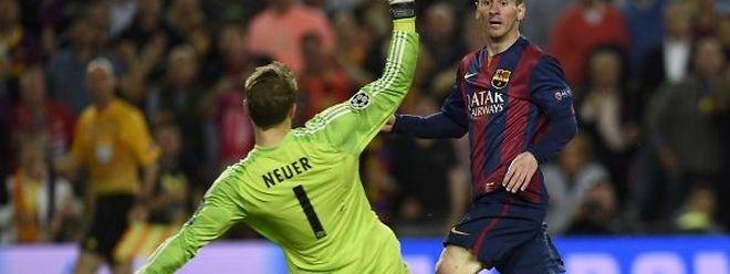 O craque argentino afundou o Bayern de Guardiola
