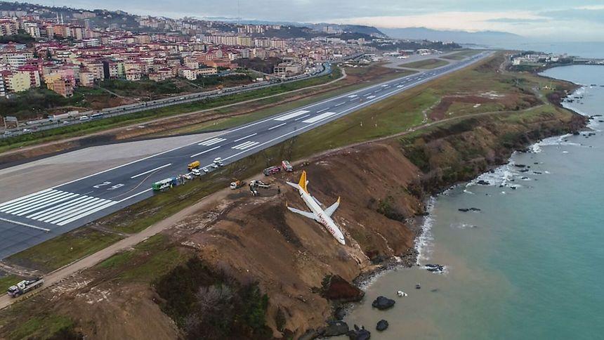 Le Boeing 737 a frôlé la catastrophe