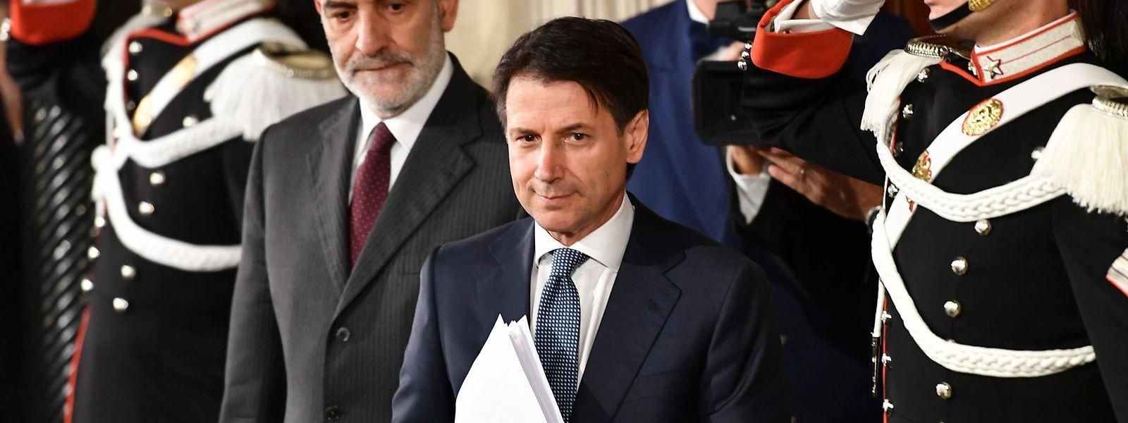 L'avocat Giuseppe Conte a été nommé premier ministre d'un gouvernement formé par la Ligue et le MS5, partis d'extrême droite et anti-establishment.