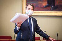 Conférence des présidents - chambre des députés - Xavier Bettel -  Foto: Pierre Matgé/Luxemburger Wort