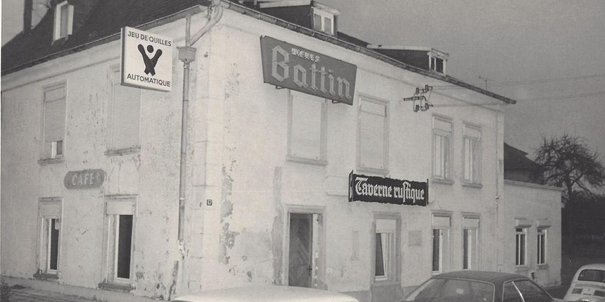"""So sah der """"Bridelshaff"""" um 1975 aus und war als """"Taverne rustique"""" bekannt. Damals wurden auch Übernachtungen angeboten."""