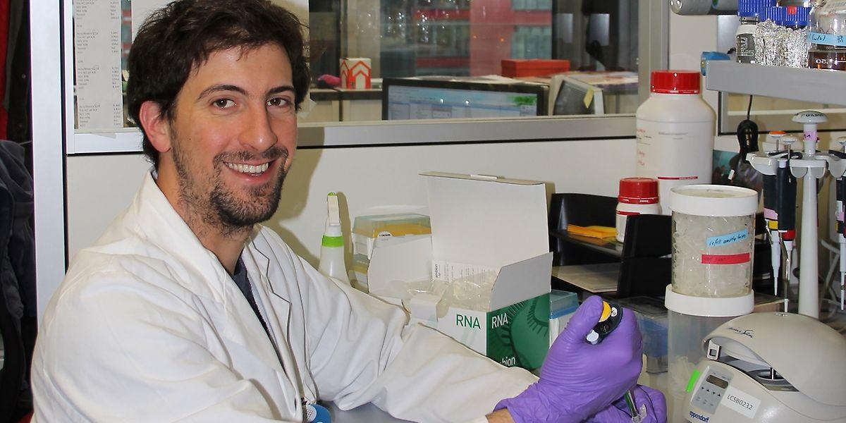 Sean Sapcariu ist ein Querdenker, dessen Herz unter anderem für die Biomedizin und gute Küche schlägt.