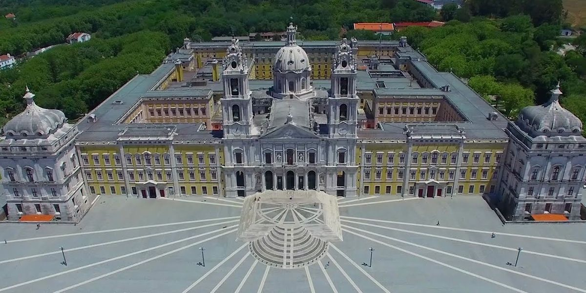 O Palácio de Mafra.