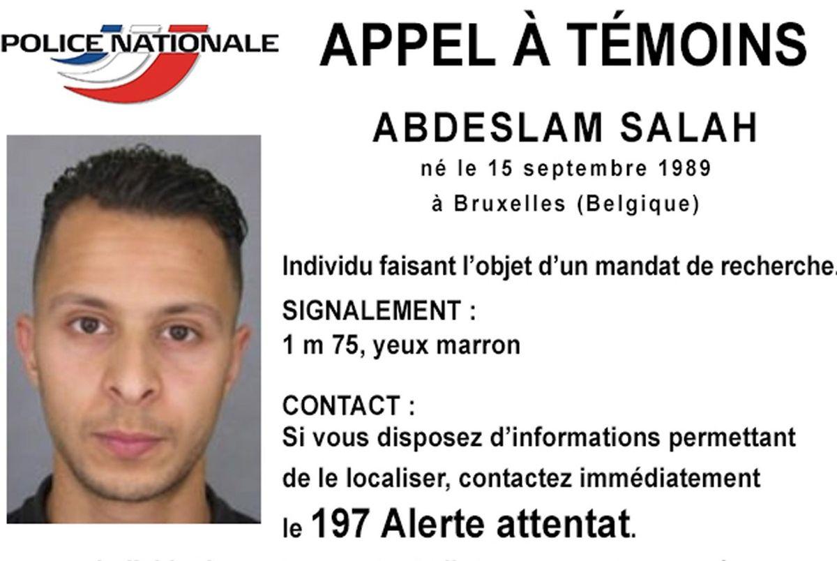 Salah Abdeslam est activement recherché par Interpol