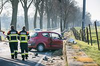 Unfall, Accident, Redange - Ell, Foto Lex Kleren