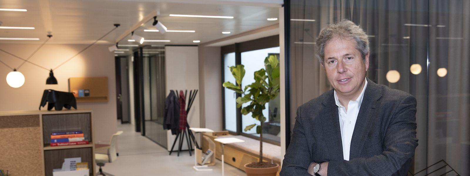 William Willems, général manager d'IWG pour BeLux, annonce déjà huit Spaces au Grand-Duché d'ici fin 2022.