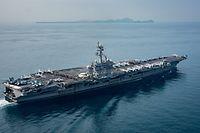 Die USS Carl Vinson ist auf dem Weg nach Korea - allerdings deutlich später als angekündigt.