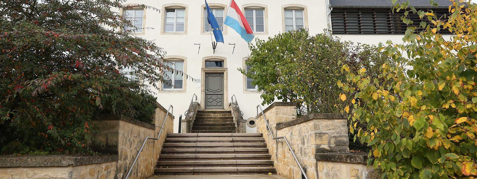 Das Gemeindehaus von Helperknapp.
