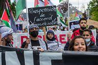 29/05/2021 , Demo Free Palestina ,  , Ville , Luxembourg ,  , Demo Comité pour une Paix juste au Moyen Orient© Laurent Blum