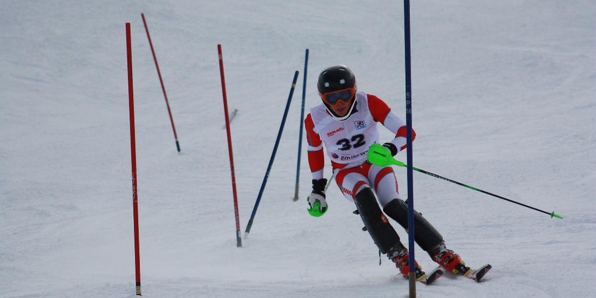 Geoffrey Osch war auch im Slalom nicht zu schlagen.