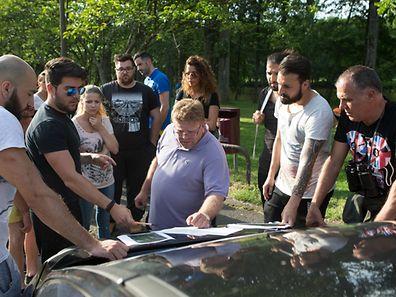Etwa 30 freiwillige Helfer suchten am Dienstagabend nach José Pereira Martins.