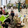 12.7. LuxVille / Centre du Rham / Servior / Probe Gospelchor /  foto:Guy Jallay
