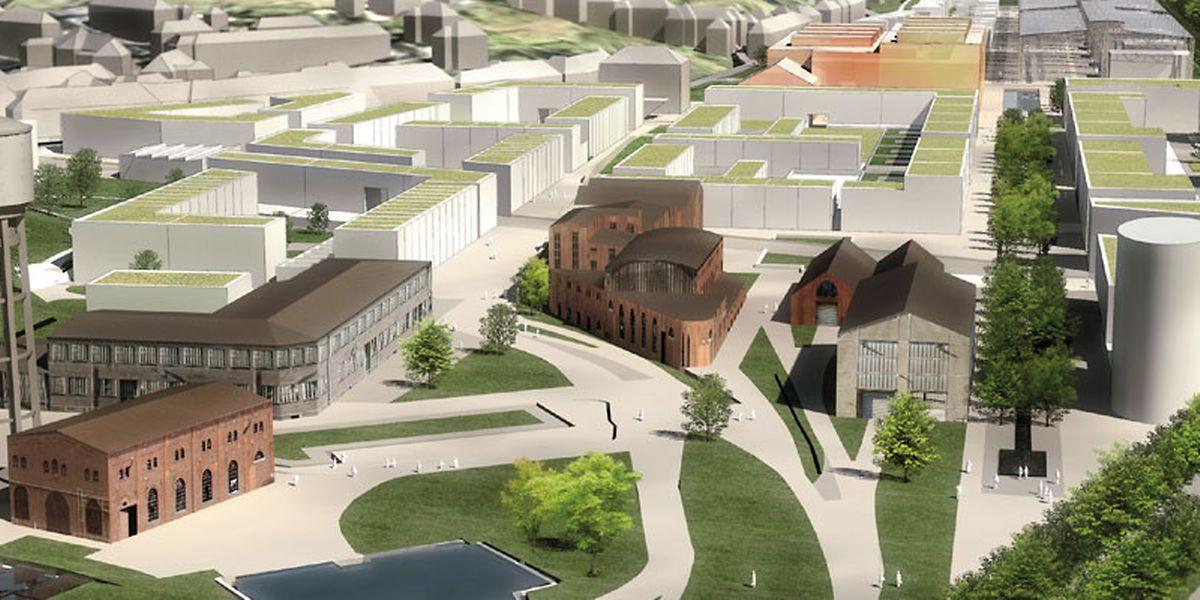 Des synergies sont en cours entre les start-up du Hub et la ville de Dudelange pour créer le nouvel éco-quartier à émissions neutres de Neischmelz.