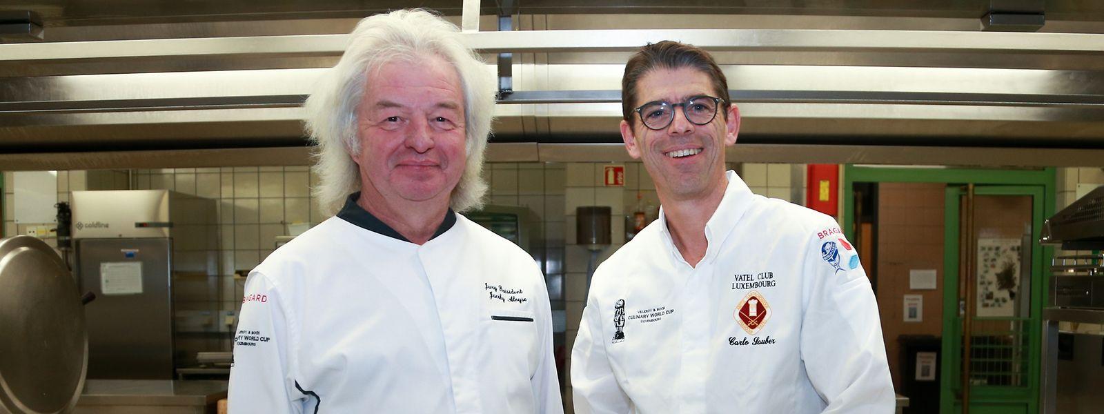 Mit Aloyse Jacoby (l.) und Carlo Sauber steht ein erfahrenes Duo an der Spitze der internationalen A-Klasse-Jury.