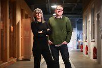 Kultur,Projet Esch 22-Nancy Braun & Christian Mosar.Foto: Gerry Huberty/Luxemburger Wort
