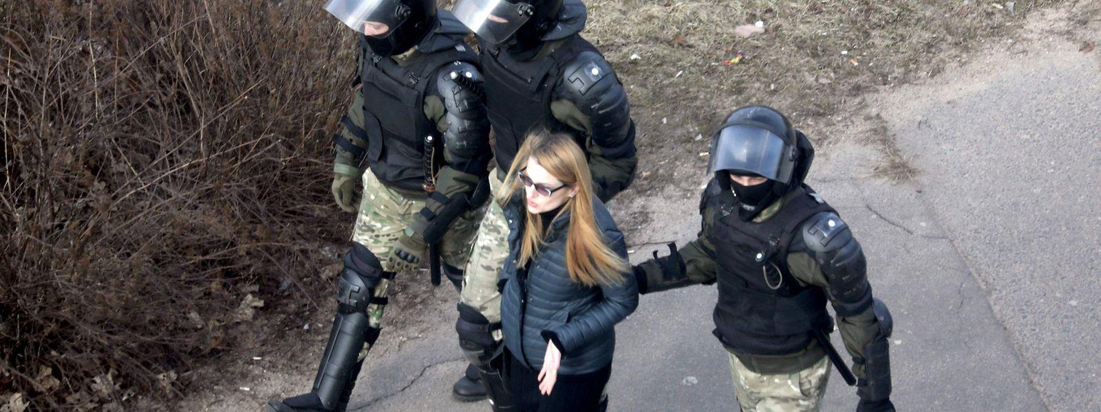 Seit der Präsidentenwahl am 9. August gehen die Menschen in Belarus gegen Präsident Lukaschenko auf die Straße.