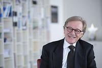 Interview EZB ECB Yves Mersch Frankfurt Foto: Tim Wegner / Foto: Tim Wegner