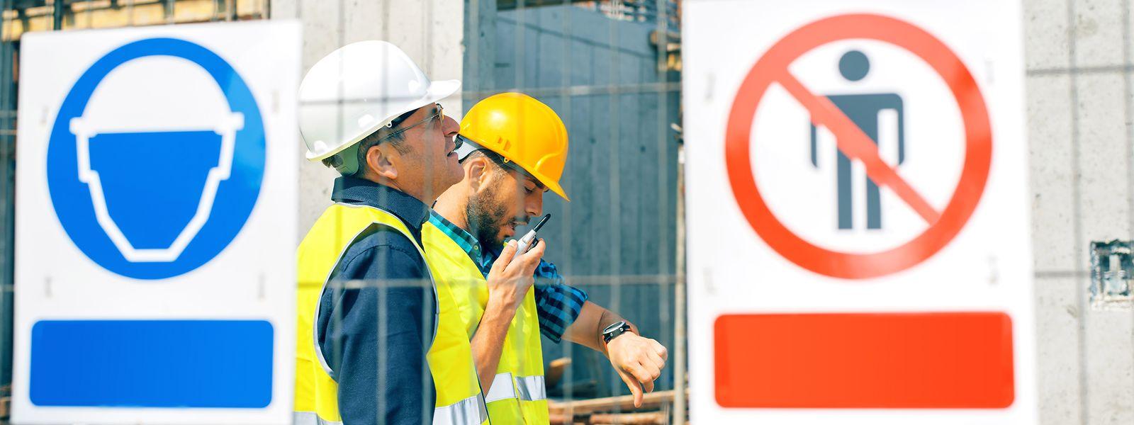 Les contrôles se multiplieront dans les jours à venir sur les chantiers de construction.
