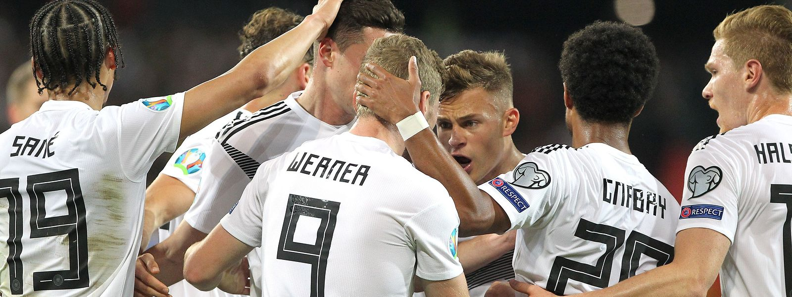 Timo Werner et la Mannschaft ont corrigé l'Estonie 8-0.