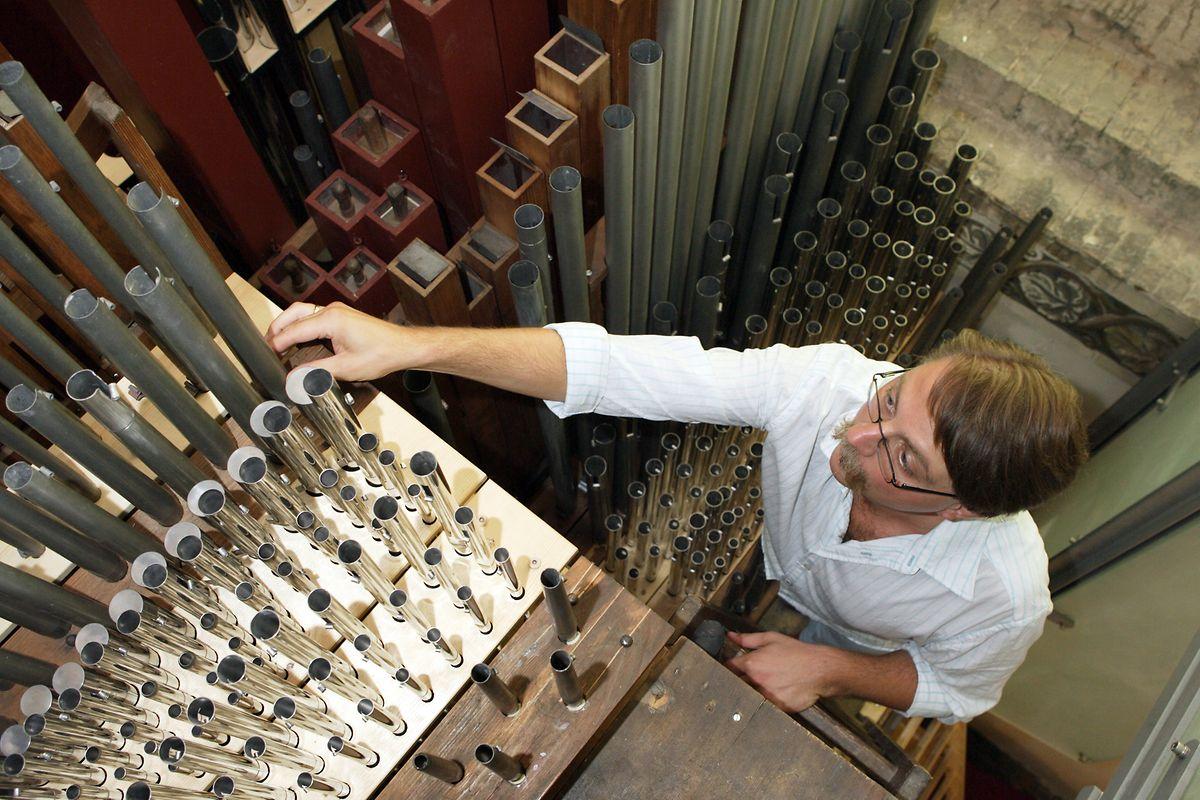Das Orgelbauhandwerk, Deutschland.