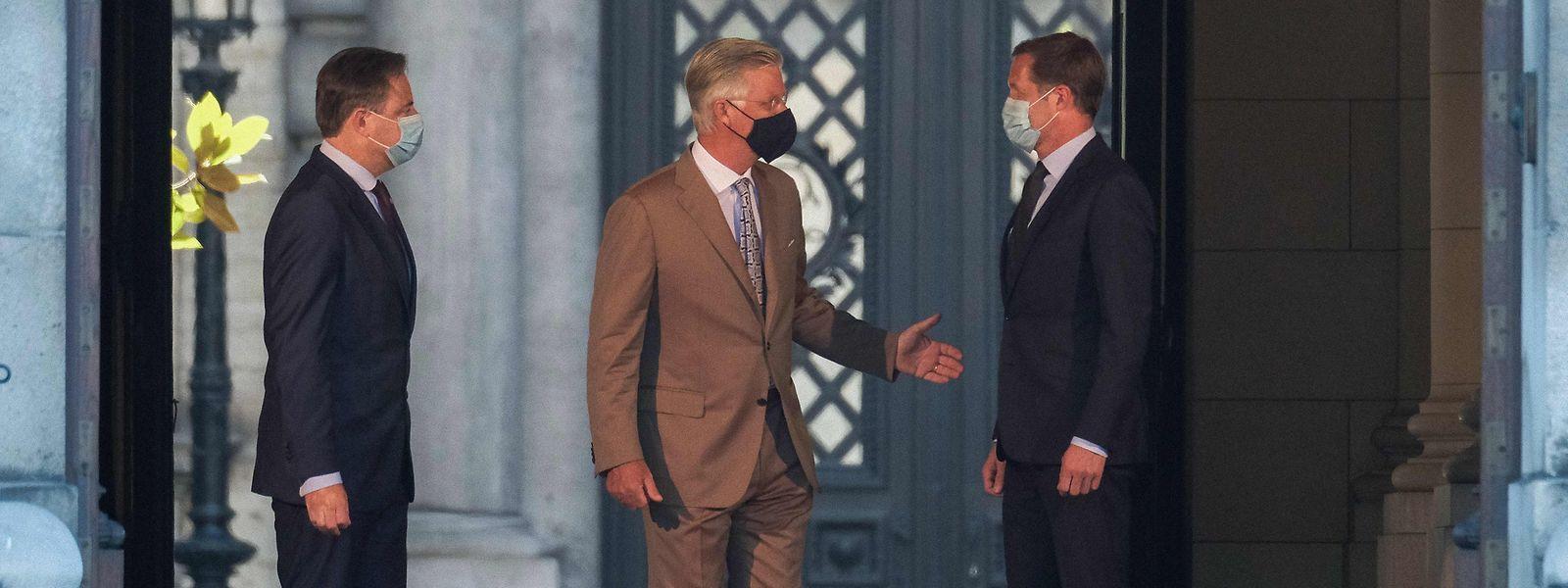 Bart De Wever, le roi Philippe et Paul Magnette ont programmé un troisième rendez-vous dans une semaine.