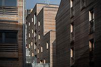 Fonds du Logement. Sozialer Wohnungsbau. Logement. Wohnen. Résidence Differdange,  Grand Rue. Photo: Guy Wolff