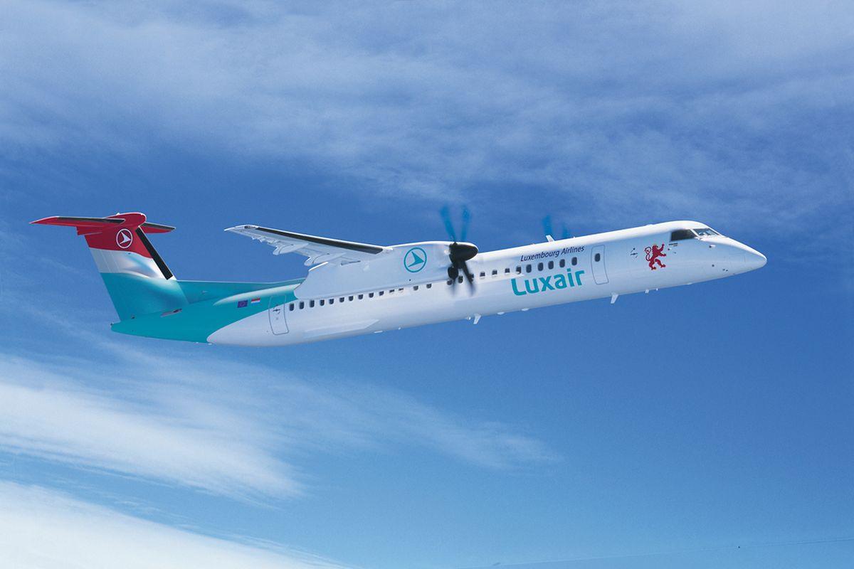 Bombardier veröffentlichte dieses Computerbild der künftigen Luxair-Flugzeuge.