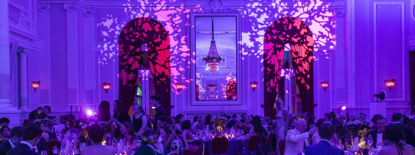 Kanner Wonsch hatte zur Gala-Nacht im hauptstädtische Cercle Cité eigeladen.