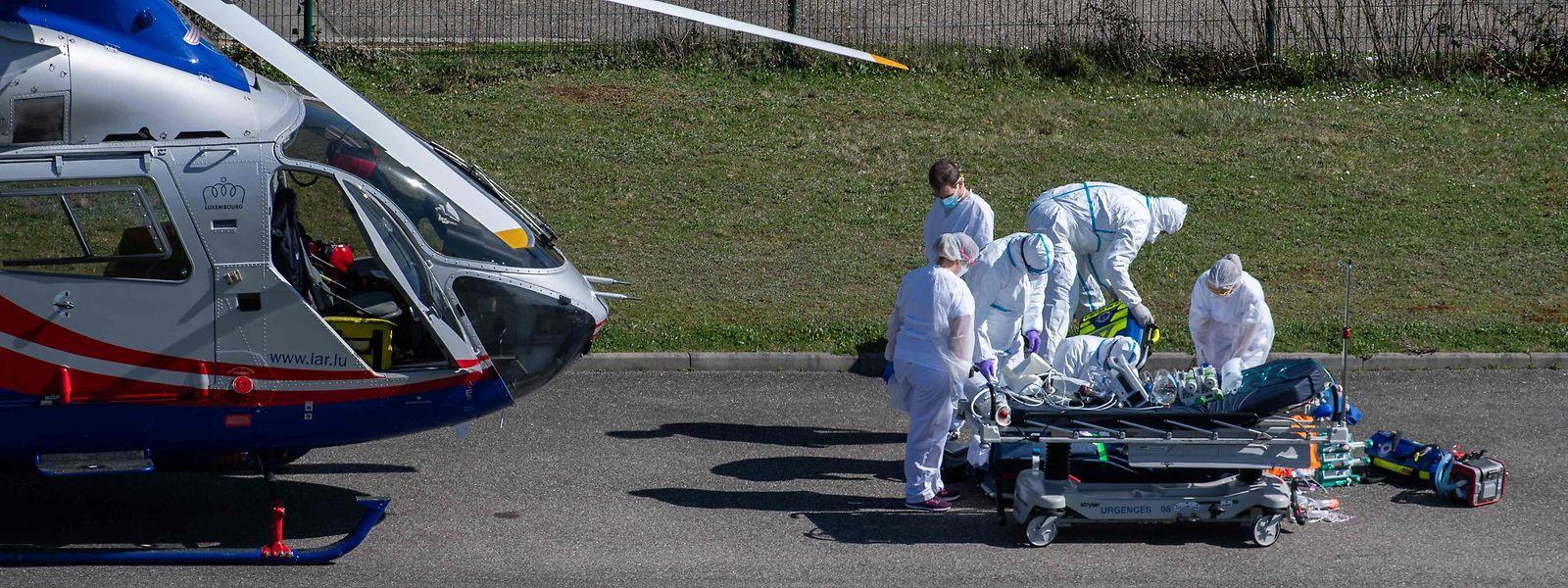 Seit Beginn der sanitären Krise hat die Luxembourg Air Rescue Covid-Patienten – zum Teil in einem sehr kritischen Zustand – im In- und Ausland transportiert.